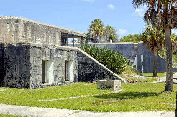the fort Dade battery