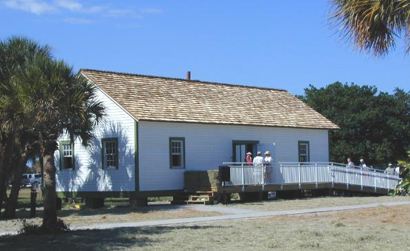 Museum is housed in replica building.