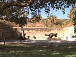 Mortars at Fort De Soto